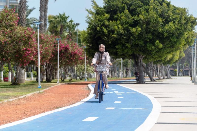 18,2 kilometrelik Bisiklet Yolu Projesinin yüzde 80'i tamamlandı