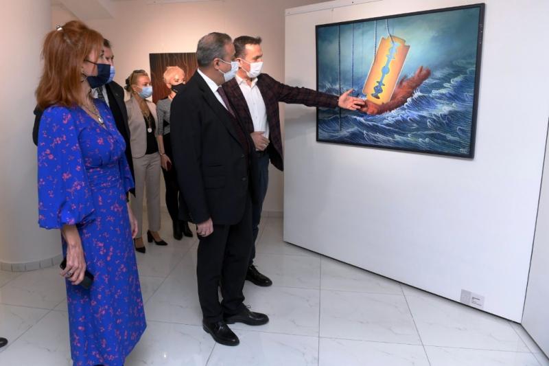 Ahmet Yeşil Sergisi yüzlerce ziyaretçiyi ağırladı