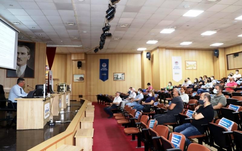 Akdeniz Belediyesi personeline dijital arşiv eğitimi