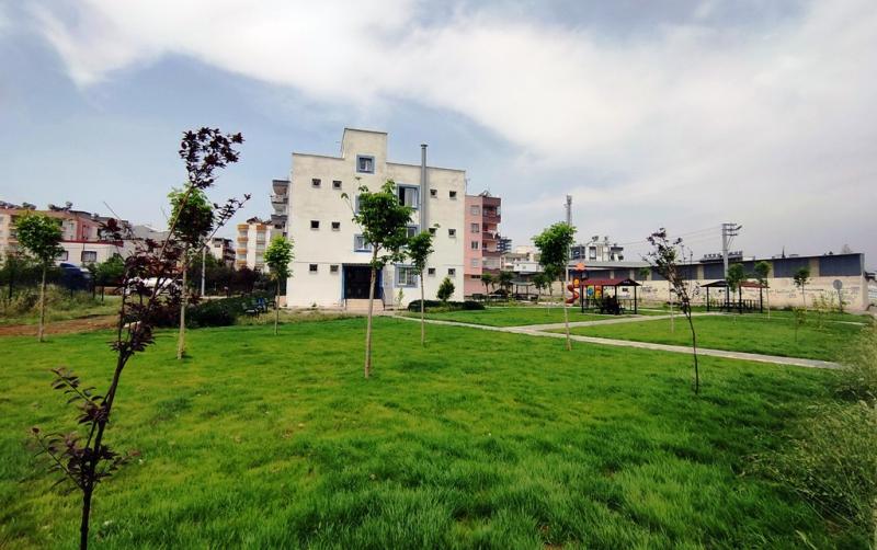 Akdeniz Belediyesinden yeşil alan atağı