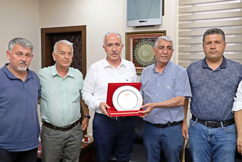 ASKF'DEN Başkan Gültak'a teşekkür plaketi