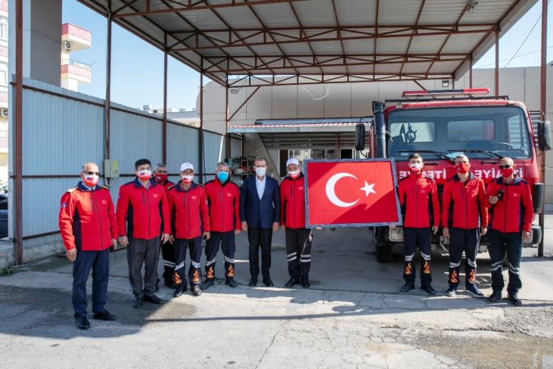 Başkan Seçer, Tarsus Atıksu Arıtma Tesisindeki çalışmaları inceledi