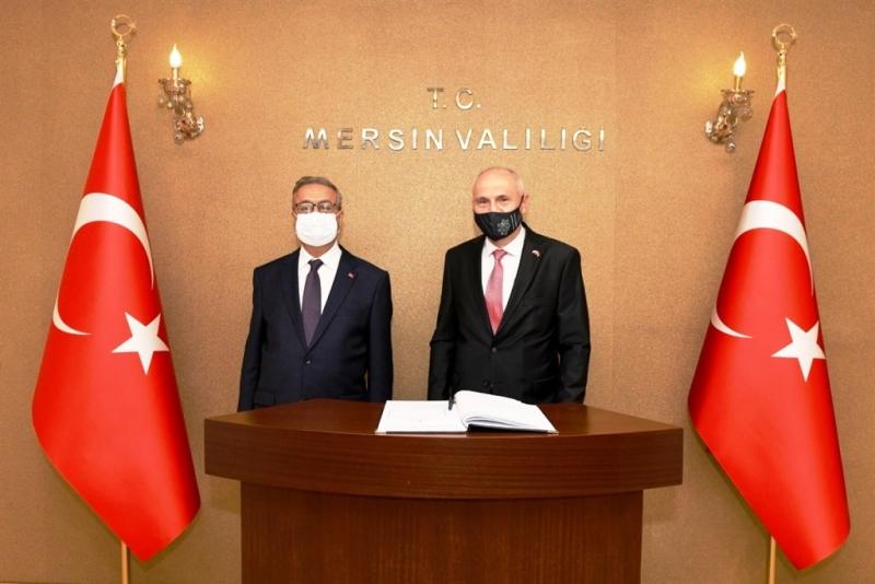 Çek Cumhuriyeti Ankara Büyükelçisi Vali Su'yu ziyaret etti