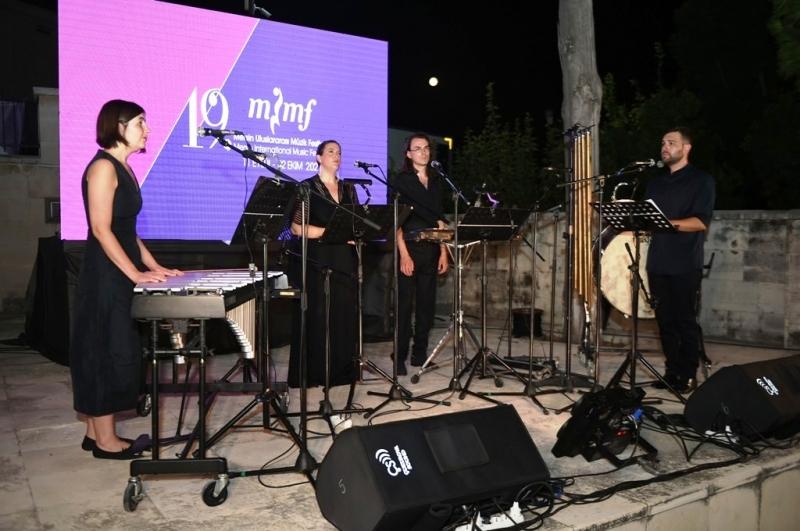 Damask Vocal Quartet, festivalde Tarsuslularla buluştu