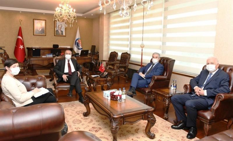 Danimarka'nın Ankara Büyükelçisi Danyy Annan, Vali Su'yu ziyaret etti
