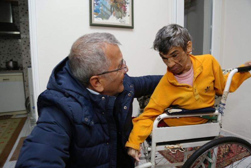 Engelliler, Mezitli'de üretim de yapabilecekleri yeni bir mekana kavuşuyor