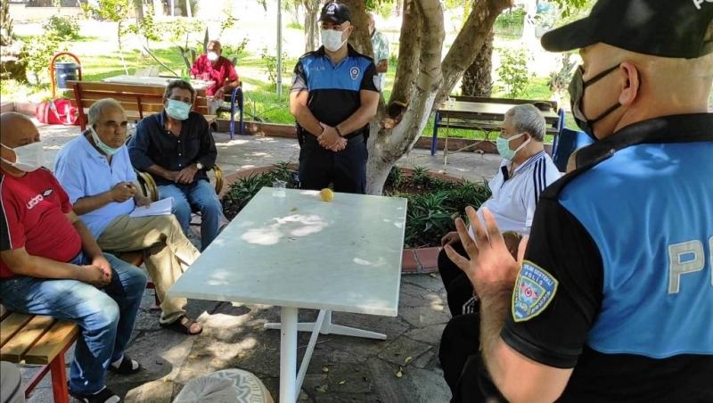 Huzurevi sakinleri Covid-19 ve dolandırıcılık olaylarına karşı bilgilendirildi
