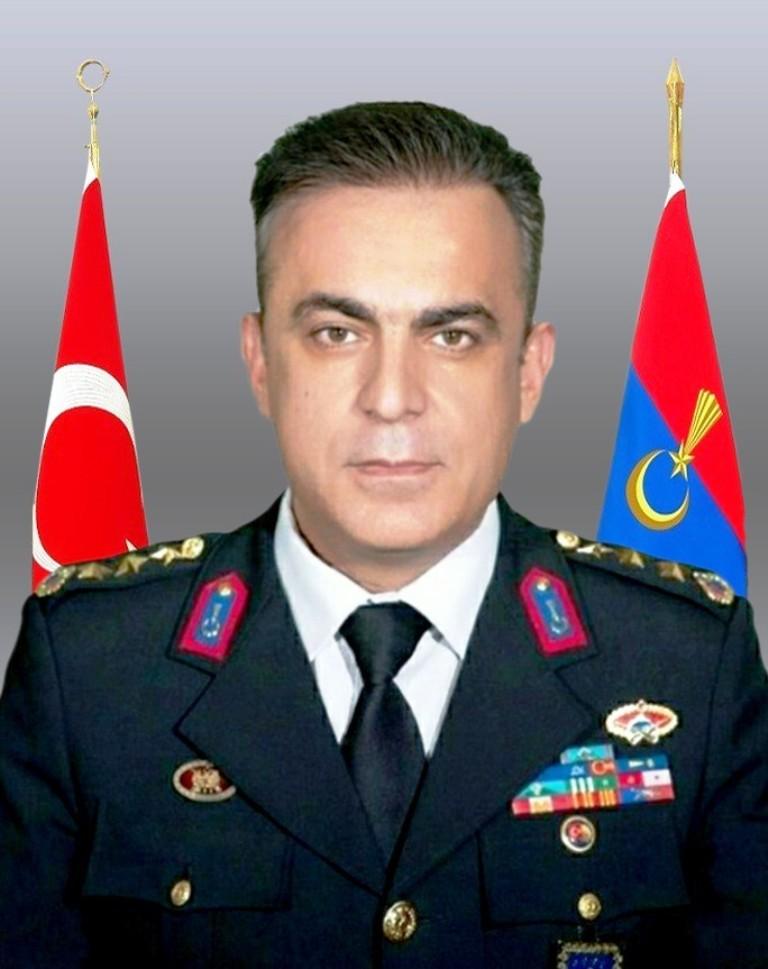 Mersin Jandarma Komutanı Çarıkcıoğlu, tuğgeneralliğe terfi etti