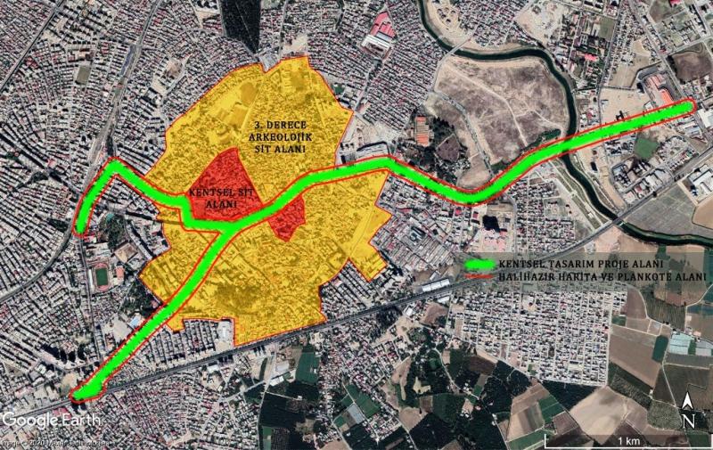 Mersin kent merkezi ve Tarsus'ta kentsel tasarım projesi hazırlanıyor