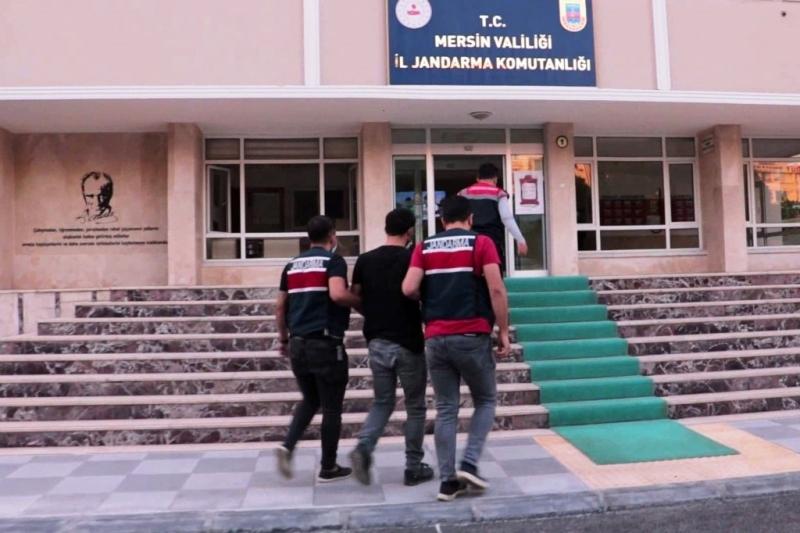 Mersin'de terör operasyonu 1 gözaltı