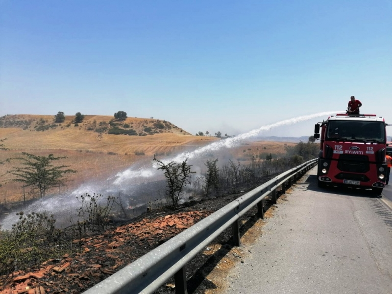 Mersin'de yangın çıkartan 1 kişi tutuklandı