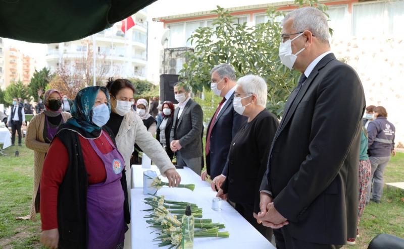Mersinliler Başkan Tarhan'ın acısını paylaştı