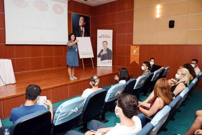 Saha personeline 'Kapasite Geliştirme Eğitimleri' veriliyor