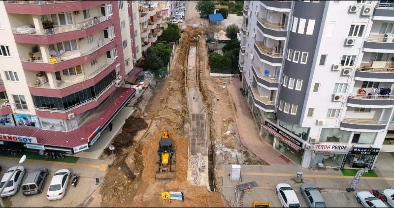 Silifke Gazi Mahallesinin su baskını sorunu çözüldü