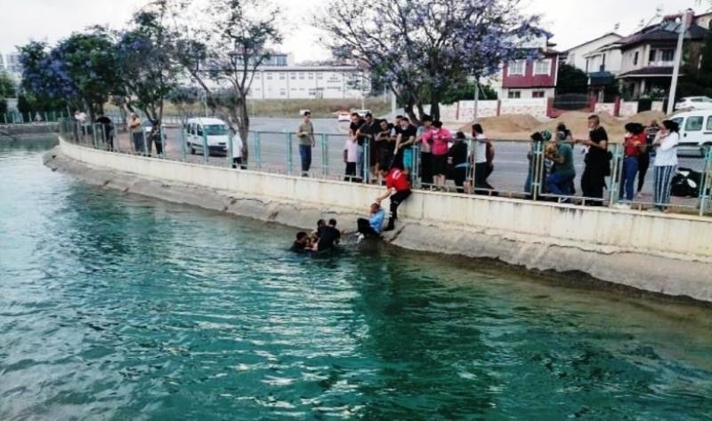 Sulama kanalına düşen ikiz kardeşlerden biri boğuldu
