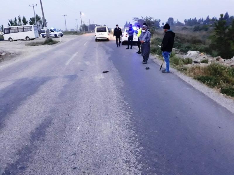 Tarsus'ta trafik kazası 1 ölü