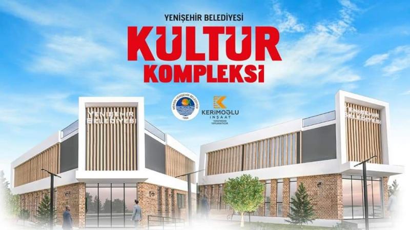 Yenişehir Belediyesi Kültür Kompleksi için imzalar atıldı